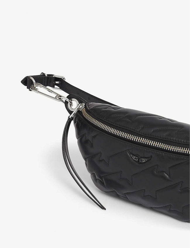 Edie quilted leather belt bag
