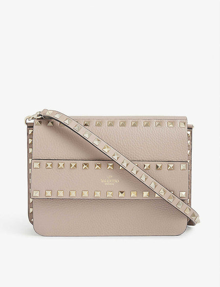Toaster mini croc-embossed leather cross-body bag