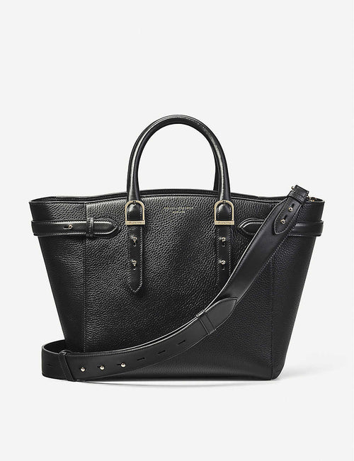 Midi Marylebone pebbled leather tote
