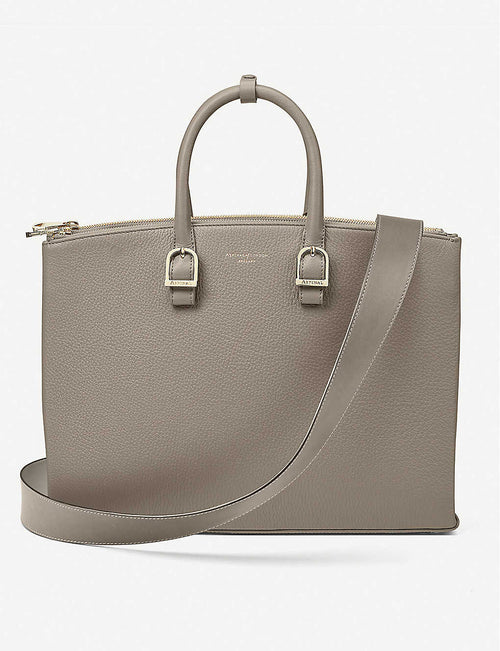 Madison leather tote bag