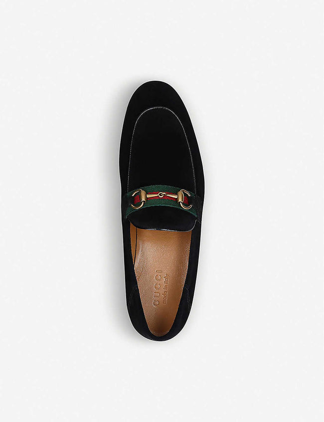 Brixton suede loafers