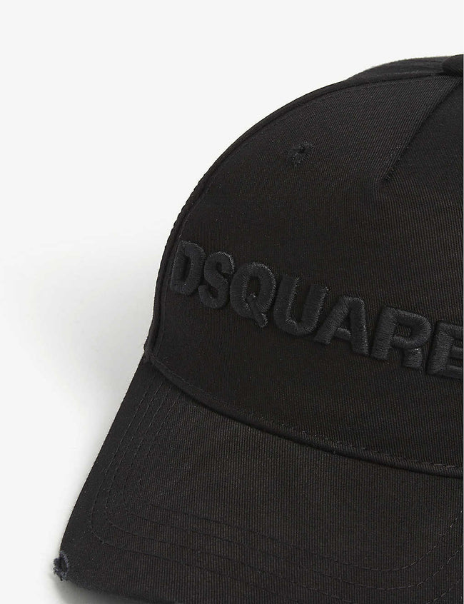 Embroidered logo cotton baseball cap