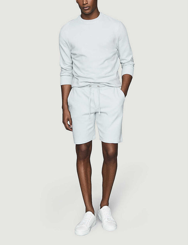 Belsay slim-fit cotton-jersey shorts