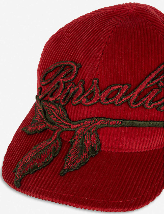 Logo-embroidered cotton and cashmere-blend baseball cap