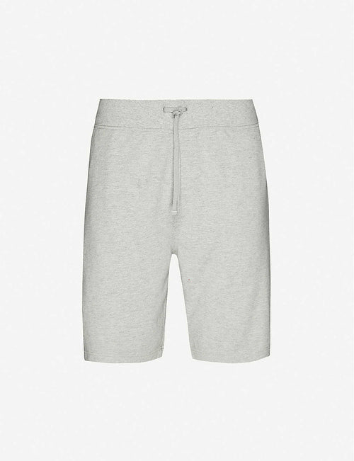 Functional logo-embroidered cotton shorts