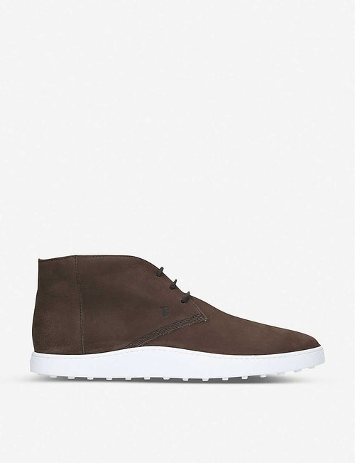 Cassetta Chukka leather trainers