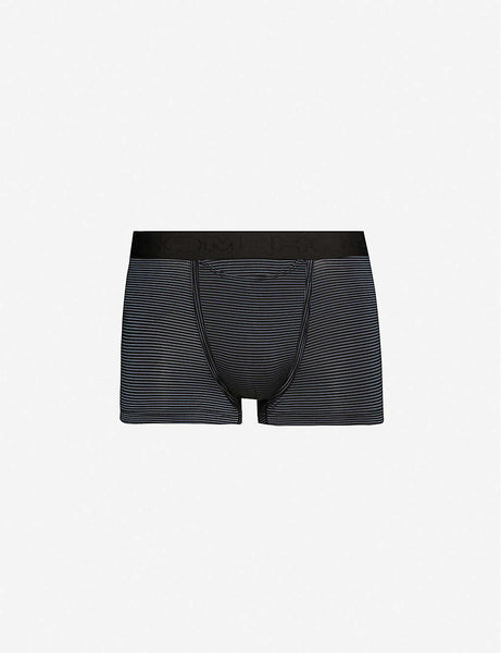 Simon striped jersey trunks