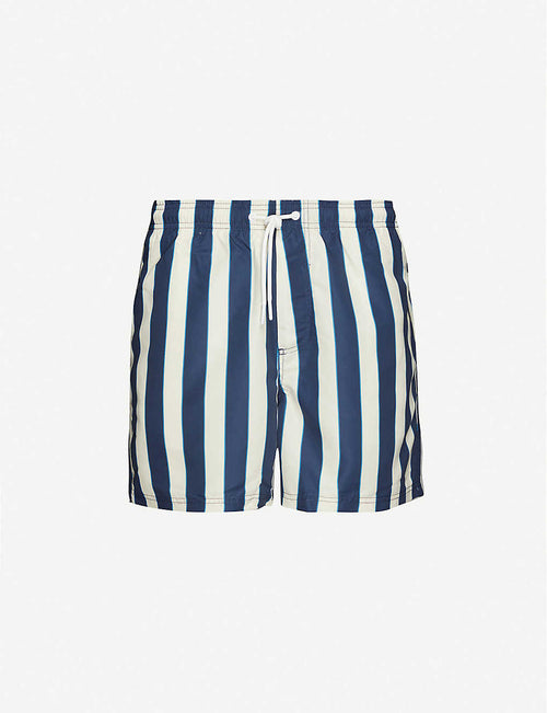Striped swim shorts