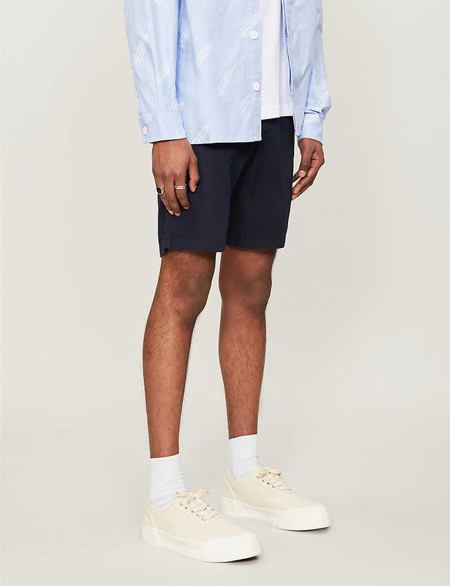 Brooklyn mid-rise cotton shorts