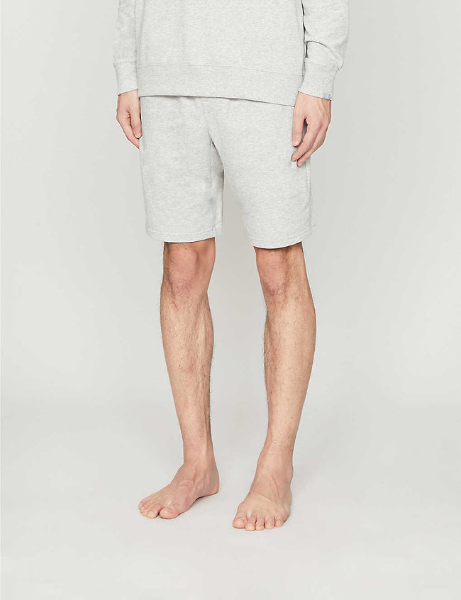 Relaxed-fit cotton-blend shorts