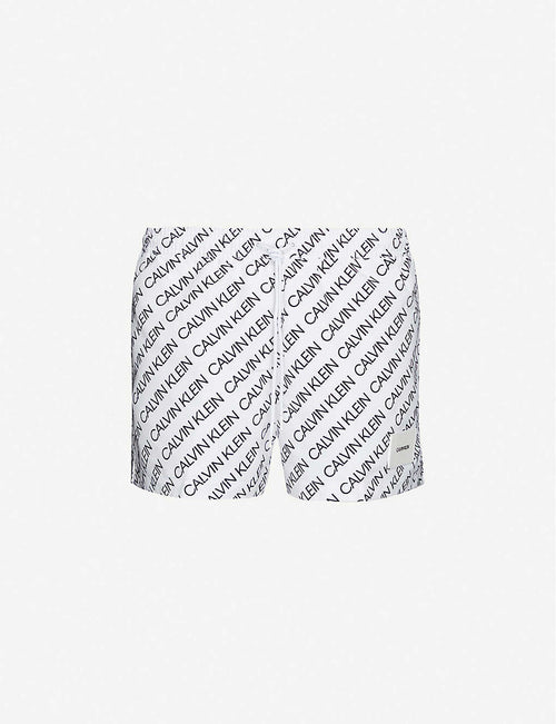 Logo-print swim shorts