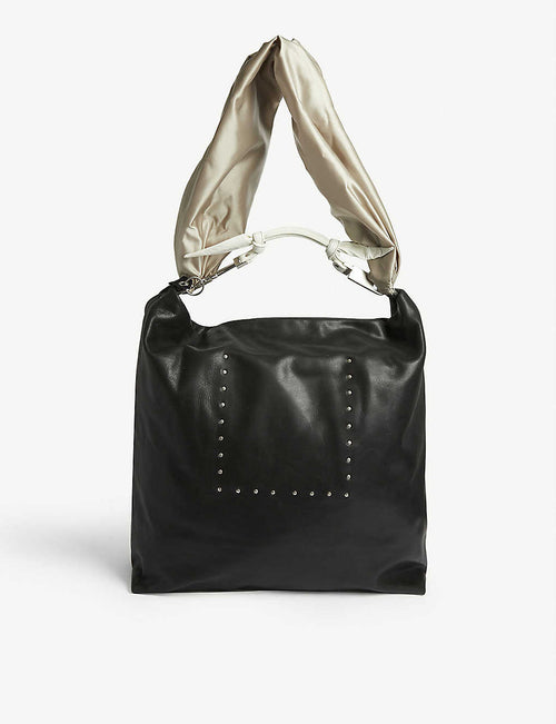 Leather Jumbo Balloon tote bag