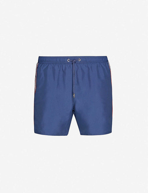 Logo shell swim shorts