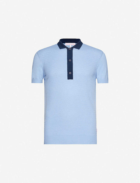Rushton cotton polo shirt