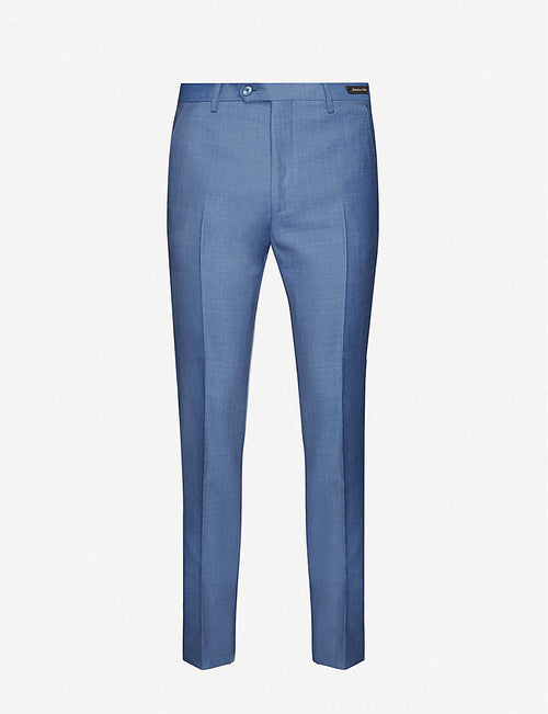 Heckfast skinny wool trousers