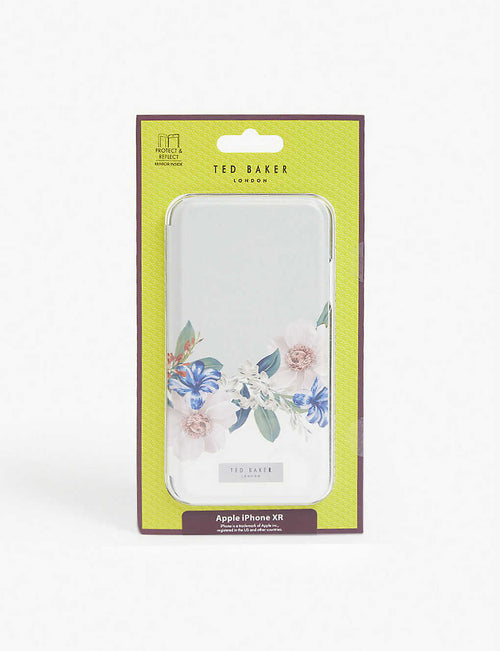 Jamboree floral-printed iPhone XR flip case