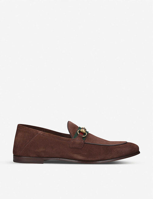 Brixton suede loafer