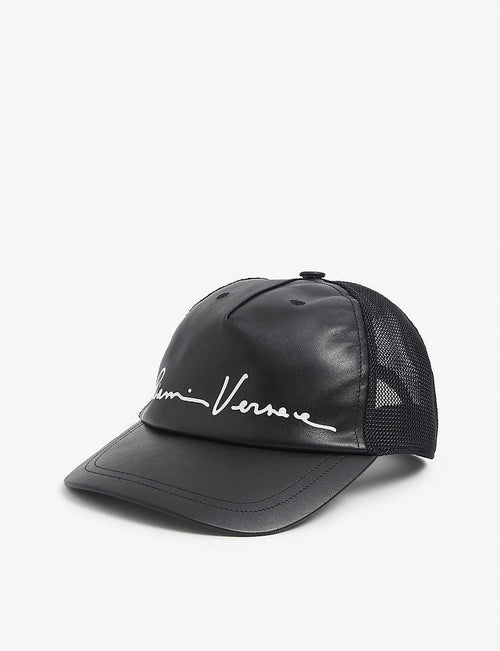 Venice leather baseball cap