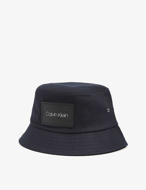 Logo patch bucket hat