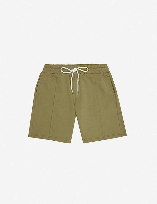 Core Luxe cotton jersey shorts