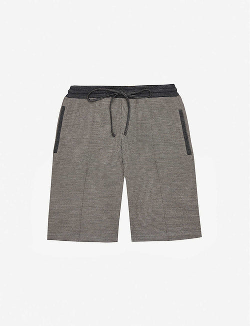 Seville two-tone woven shorts