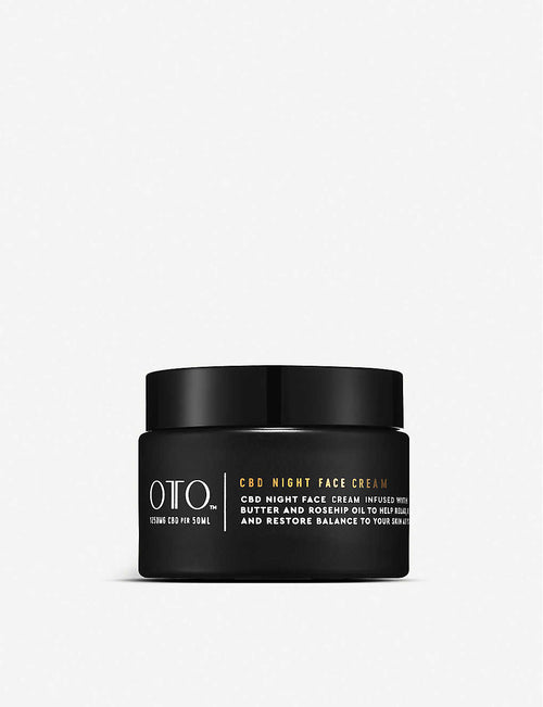 1,250mg CBD night face cream 50ml