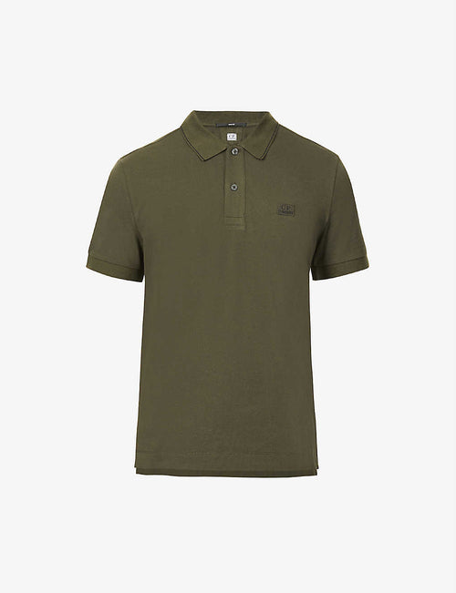 Classic logo-embroidered stretch-cotton polo shirt