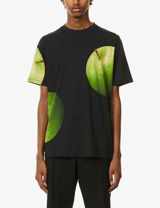 Green Apple graphic-print cotton-jersey T-shirt