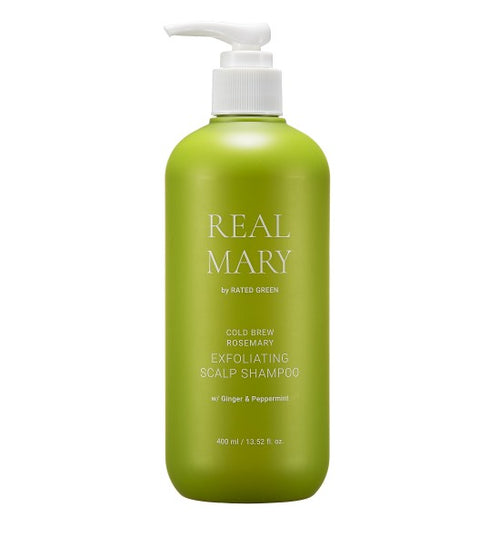 REAL MARY EXFOLIATING SCALP SHAMPOO 400ml
