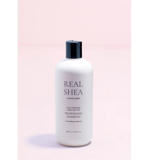 REAL SHEA BUTTER NOURISHING SHAMPOO 400ml