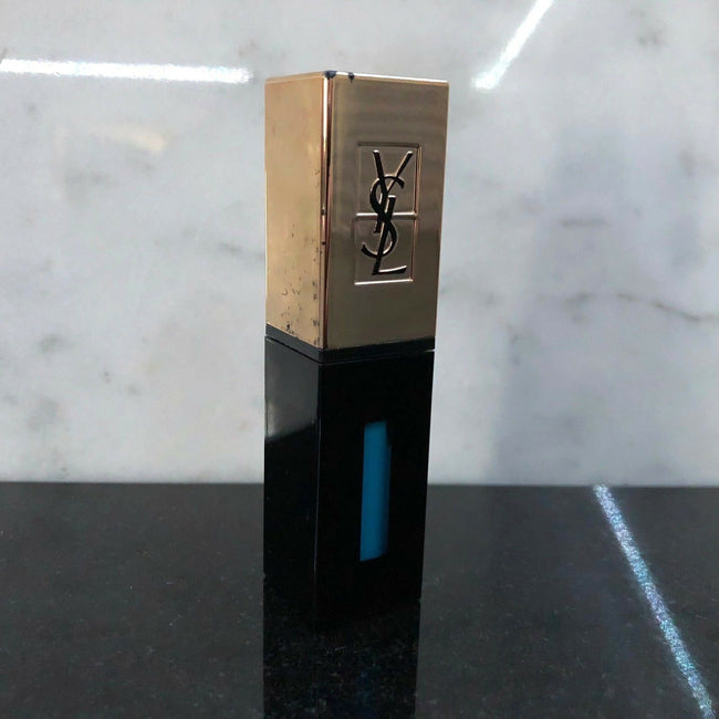 Yves Saint Laurent YSL Rouge Pur Couture Vernis a Levres Pop Water Nr.52 Blue