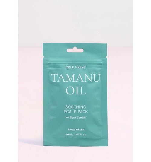 COLD PRESS TAMANU OIL SOOTHING SCALP PACK W/ BLACKCURRANT