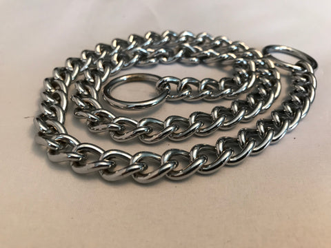 Heavy Duty 3mm Choke Chain Collars