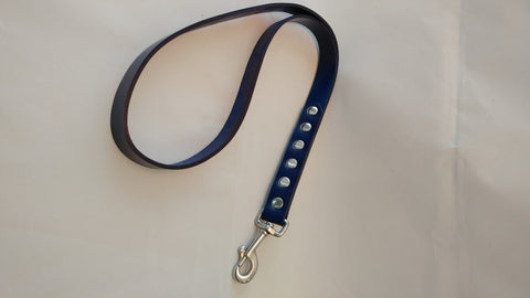 "24"" All Leather Dog Lead"