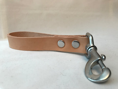 "7"" Leather Leash"