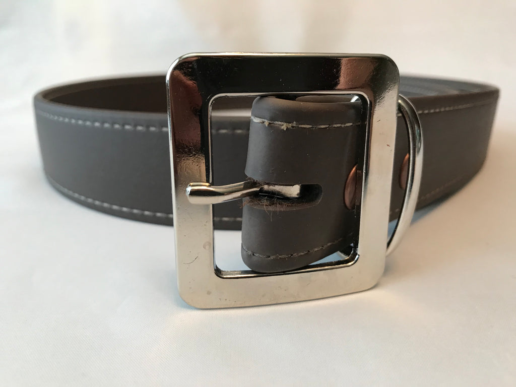 "Brown Brahma Webb® Leather Belts 1 1/2"" Wide"