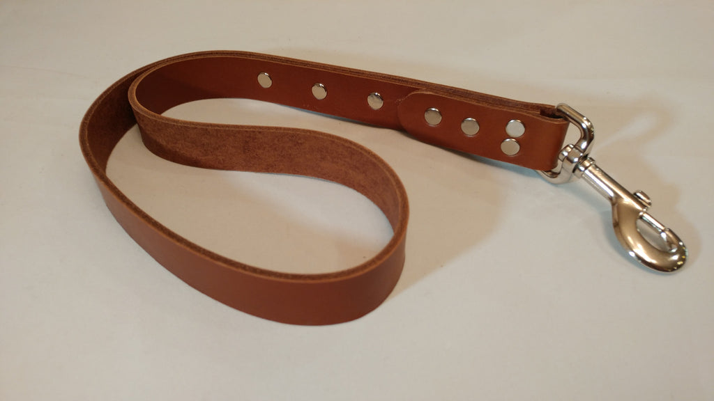"20"" Leather Leash"