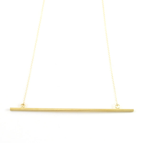 Back To Basics Necklace - Bar