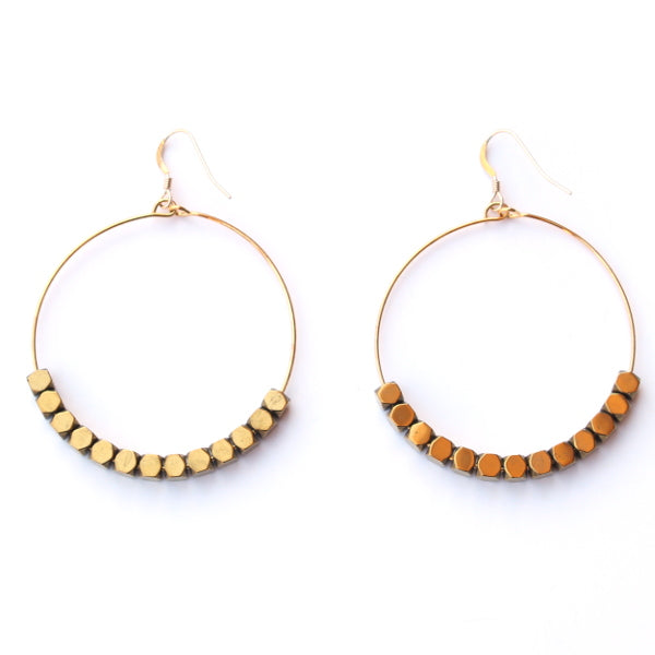 Catch The Light Hoop Earrings