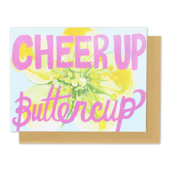Cheer Up Buttercup Card