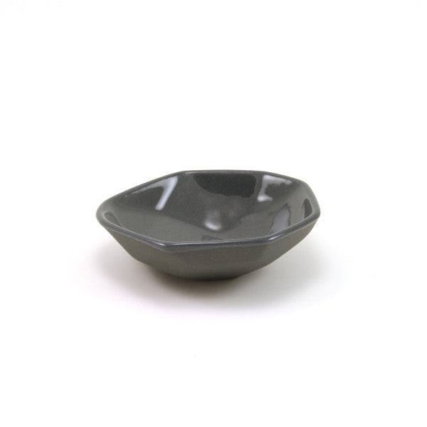 Gem Salt Bowl - Charcoal