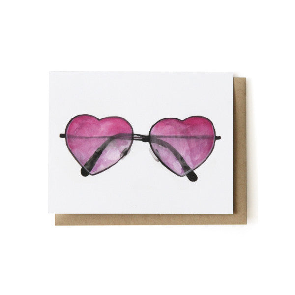 Heart Sunnies Card