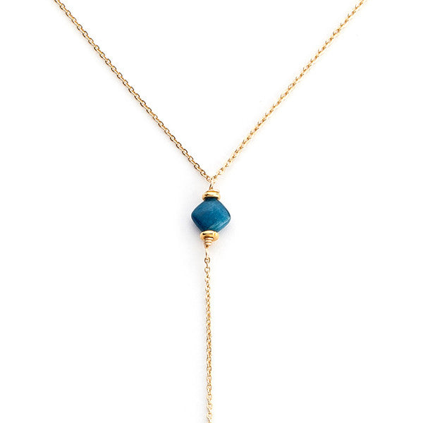 Leyti Necklace - Apatite