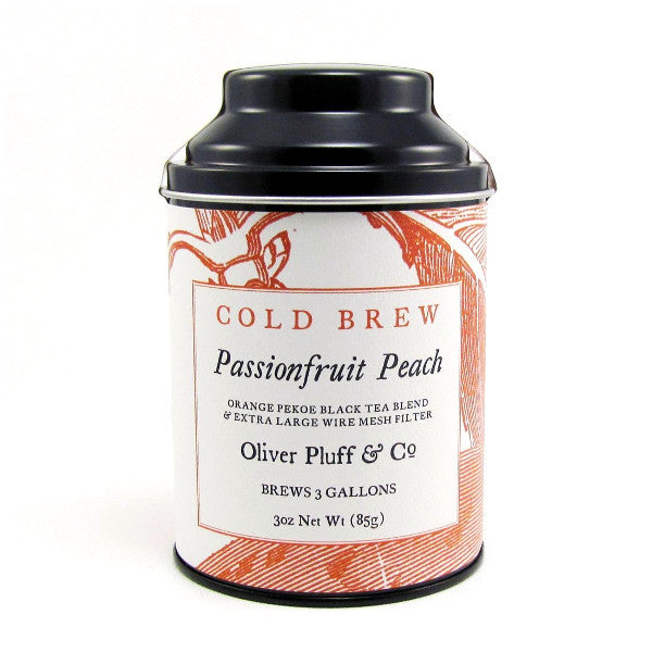 Passionfruit Peach Cold Brew