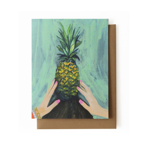 Pineapple Balance Card