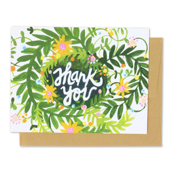 Thank You Spring Blooms Card