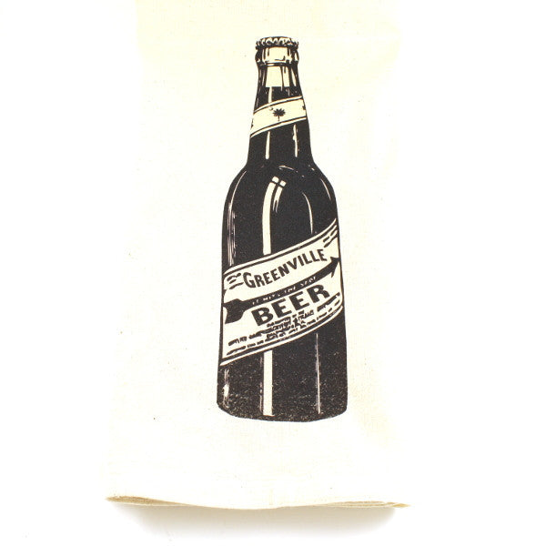 Kitchen Towel - Greenville Beer Bottle
