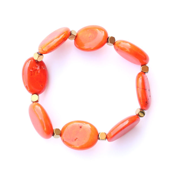 You Need Some Color Bracelet - Orange