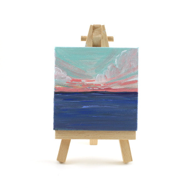 Sunrise Mini Canvas and Easel