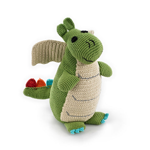 Pebble - Rattle / Storytime - Rattle Green Dragon